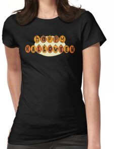 Happy Halloween! Womens Fitted T-Shirt