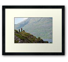 Irish mountain view Framed Print