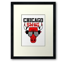 Chicago Swag Framed Print