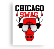 Chicago Swag Canvas Print