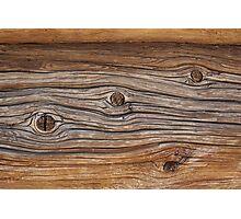Wooden texture Photographic Print