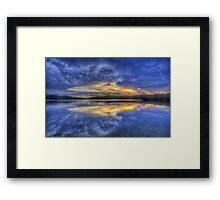 Close Encounter of the Dawn Kind - Narrabeen Lakes, Sydney  - The HDR Experience Framed Print
