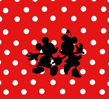 Minnie and Mickey  by Samantha Cabral