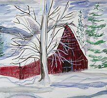 Red Barn by lorikonkle