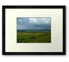 Colours of the Emerald Isle Framed Print