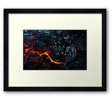 Dragon Mug (Other Products Available) Framed Print