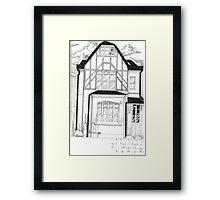 House Of Horror Framed Print