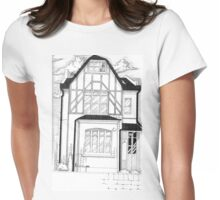 House Of Horror Womens Fitted T-Shirt