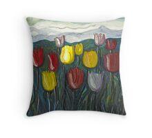 Tulip Lookout Throw Pillow