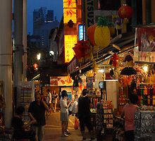 Shopping in China Town by Christian Eccleston