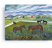 Virginia Summer Canvas Print