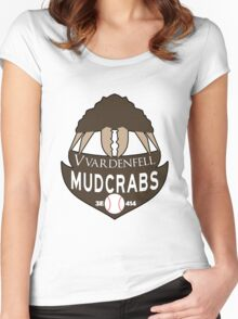 Vvardenfell Mudcrabs Women's Fitted Scoop T-Shirt
