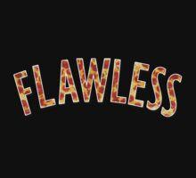 Flawless - Pizza Print by velawesomraptor