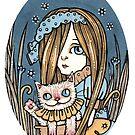 Cheeky Cheshire by Anita Inverarity
