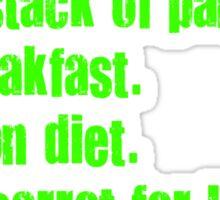 Best Diet Recipe Sticker