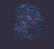 Raven Triskele Celtic Knotwork Unisex T-Shirt