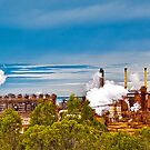 Gladstone Industry Panorama Australia by PhotoJoJo