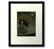 Wild Wild Sea Framed Print