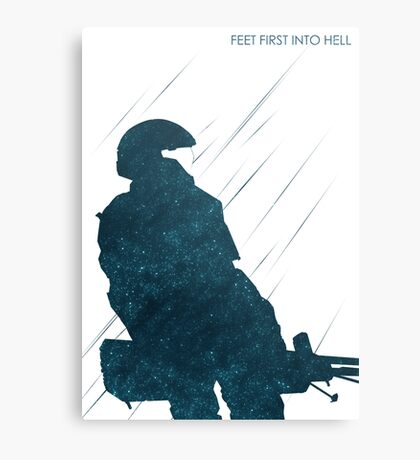 Feet First Into Hell Canvas Print