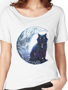 Celtic Black Cat Women's Relaxed Fit T-Shirt