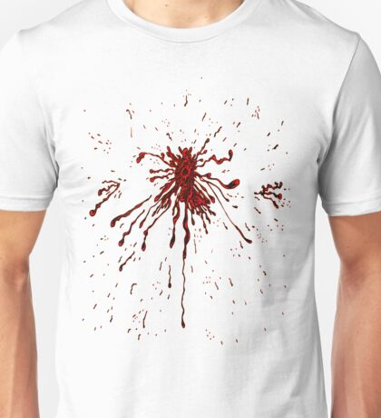 Blood & Bullet wounds Unisex T-Shirt