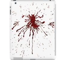 Blood & Bullet wounds iPad Case/Skin