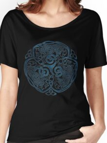 Wolf Celtic Knotwork Women's Relaxed Fit T-Shirt