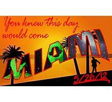 Miami - Zombie Apocalypse? Photographic Print