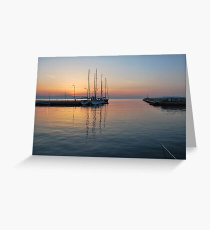 quiet before dawn  Greeting Card