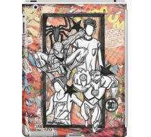 Zouis with Superheroes iPad Case/Skin