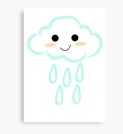 Cloud Rain Canvas Print