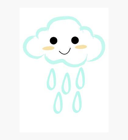 Cloud Rain Photographic Print