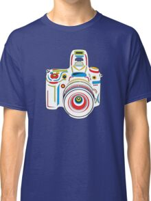 Rainbow Camera Fun Classic T-Shirt