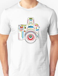 Rainbow Camera Fun T-Shirt