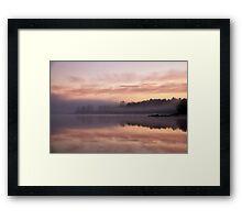 Caramel sunrise Framed Print