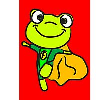 Super Frog Photographic Print