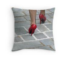 Appropriate footwear Throw Pillow