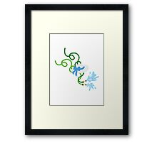 Garden Fun Framed Print