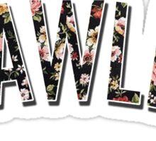 Flawless - Floral Print Sticker