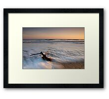 Marsden Beach Framed Print