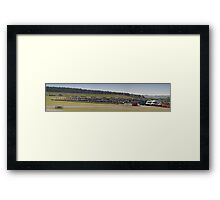 Sea of Bikes Framed Print