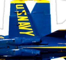 Blue Angels Flight Demonstration Team Sticker