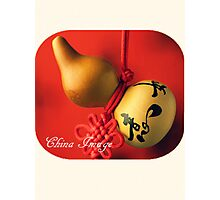 Chinese Gourd Photographic Print