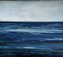 abstract seascape by Iris Lehnhardt