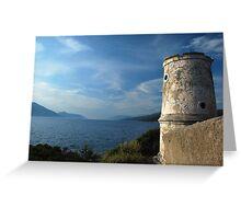 venetian lighthouse Greeting Card