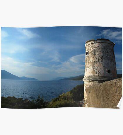 venetian lighthouse Poster