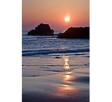 South Shields Beach Photographic Print