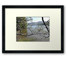 Loch Ness from the south bank Framed Print