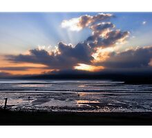 Fundy Sunset Photographic Print