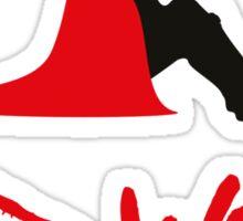 Bad wolf Sticker